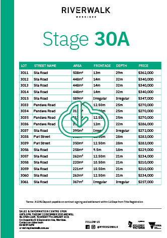 Download 30A Price List